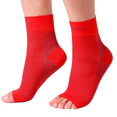 073e952651 ... Doc Miller Plantar Fasciitis Socks Medical Grade Compression Foot  Sleeves - Ankle Arch & Heel Support ...