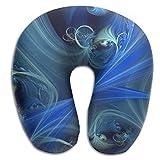 Mandala Kaleidoscope Brace Neck Pillow Spa Memory Foam U-SHAPE Toddler Car Seat Teen