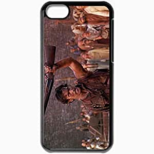 Personalized iPhone 5C Cell phone Case/Cover Skin Army of darkness 9 movies Black