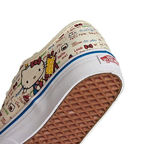 mode Hello White Red bébé T mixte Baskets Authentic Vans Kitty qHYPwtRx