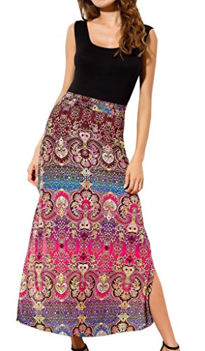 Costyleen Womens Sleeveless Bohemian Casual
