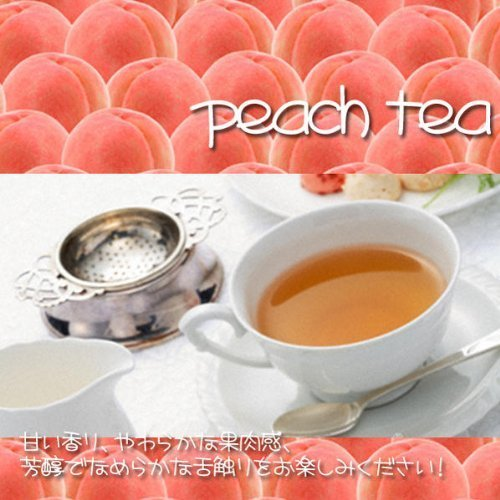 [Fruit tea] peach tea ''white peach tea'' (1000g) [for business] by Shops Tees clover tea (Image #1)