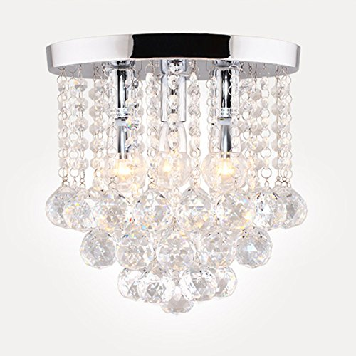Surpars house crystal chandelier3 lights11 w 10 hsilver aloadofball Gallery