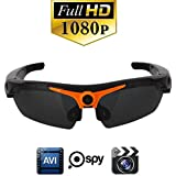 DARONGFENG HD 1080P Camera Sunglasses,Video Recorder Sunglass with Remote Control