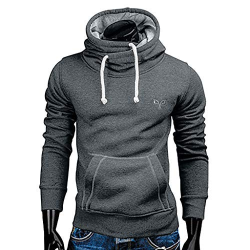 Hoodie Silence Mens - Sunmoot New Plus Size Hoodie Sweatshirt for Men Autumn Winter Casual Kangaroo Pocket Hooded Pullover Drawstring Tops Blouse