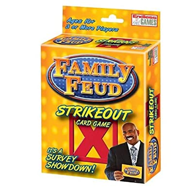 Family Feud Strikeout Card Game: Toys & Games