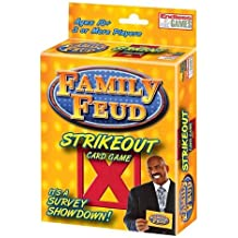 Family Feud Strikeout Card Game