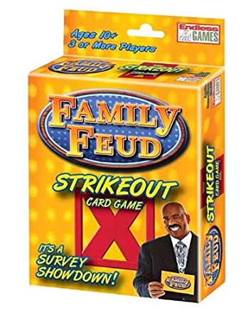 Amazon family feud strikeout card game toys games family feud strikeout card game reheart Image collections