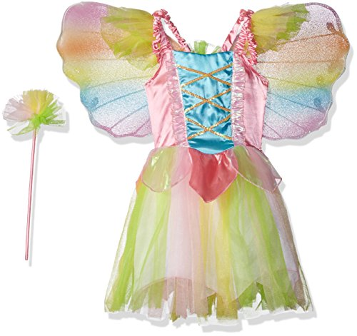 Charades Rainbow Princess Fairy Costume, NA, X-Small/Small -