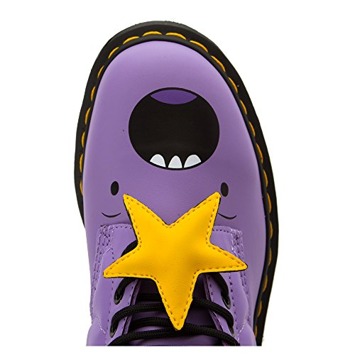 Dr.Martens 1460 Lumpy Space Princess 8 Eyelet Purple Womens Boots Morado