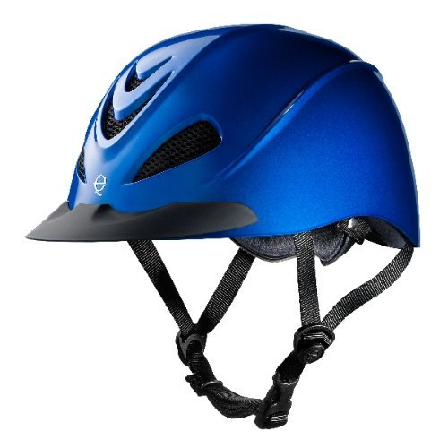 Troxel Liberty Schooling Helmet Large Cobalt (Helmets Riding Western)