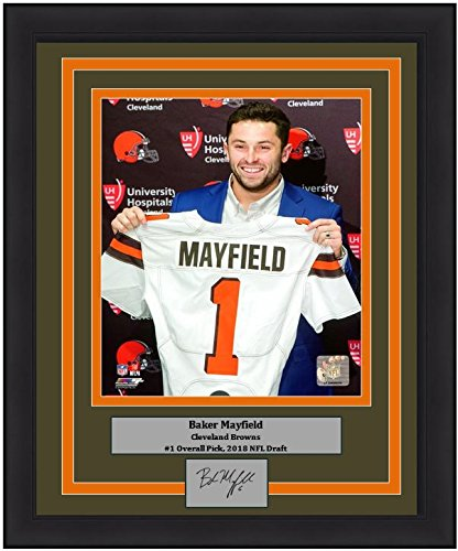 - Browns Baker Mayfield Draft Day 8