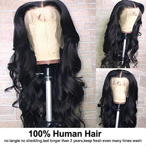 9A Lace Front Wigs Human Hair, 150% Density Pre Plucked with Baby Hair, Doheroine Brazilian Body Wav - http://coolthings.us
