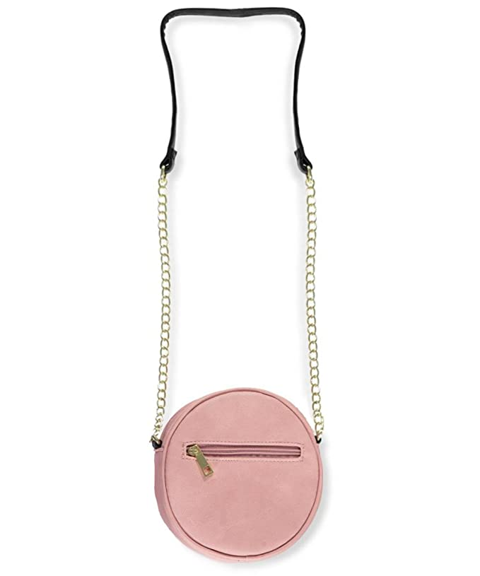 Amazon.com: Olivia Miller Emoji Crossbody Purse - blush, one size: Clothing