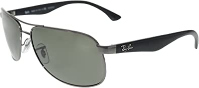 e712823239 Color  Ray-Ban Sunglasses - RB3502 Highstreet   Frame  Gunmetal Lens   Crystal Green Polarized