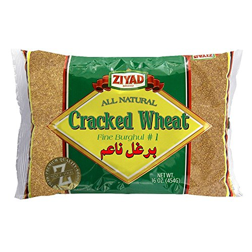 Ziyad Cracked Fine Wheat #1, 16 OZ -
