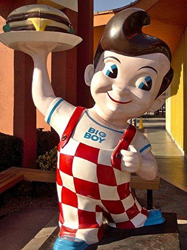 Laminated Poster Bob's Big Boy California Statue Burbank Symbol Poster Print 24 x -