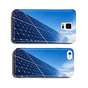 Row of solar panels and sky cell phone cover case iPhone6 Plus