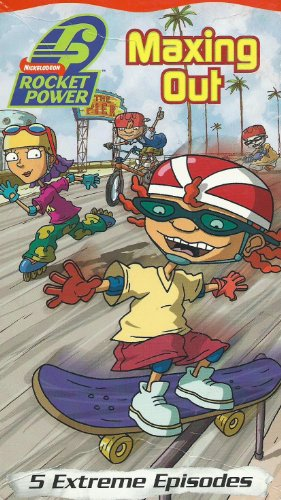 (Rocket Power - Maxing Out: Bruised Man's Curve/ Super McVarial 900/ Big Thursday/ The Big Air Dare/ Otto's Big Break)