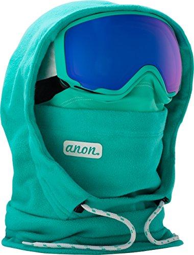 Burton Women's MFI Fleece Helmet Hood Clava, Empress Teal, One Size -