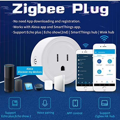 Amazon com: Rigel7 Zigbee Smart Socket US Plug Switch For