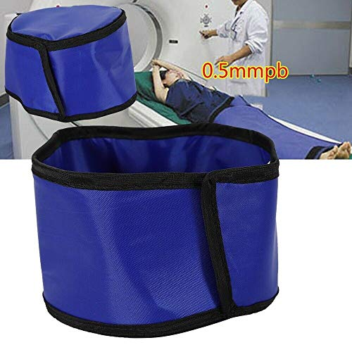 (Lead Cap Radiation X-Ray Shield Head Protection Lead Cap Hat Radiation Safety Blue 0.5mmpb (USA Stock))