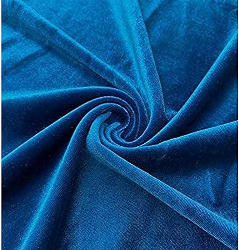 Clothing fabric velvet fabric stretch velvet solid dark grey 1.5 m width