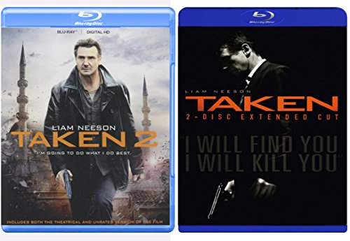 Taken & Taken 2 PackTaken (Two-Disc Extended Cut) Crime Action Movie Set