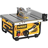 DEWALT 10-Inch Compact Job Site Table Saw with Site-Pro Modular Guarding System and Stand