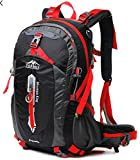 Backpack 50L, Topsky Internal Frame Hiking Backpack Backpacking Backpack for Outdoor Camping Travel Trekking Climbing with Rain Cover(New Black) For Sale