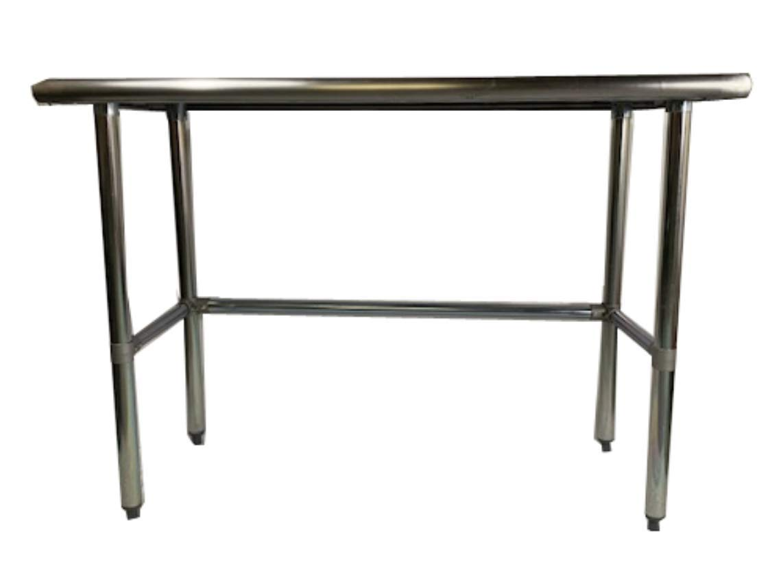 Heavy Duty Stainless Steel Prep Work Table with Crossbar 24 x 36 - NSF -