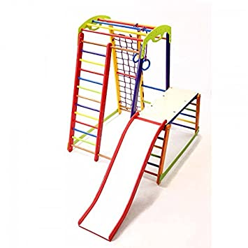 Activity Center Mit Rutsche Junior Color Plus 1 1 Schwedischen