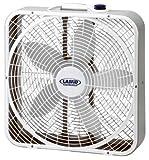 Lasko 20 in. 3-Speed Weather Shield Performance Box Fan
