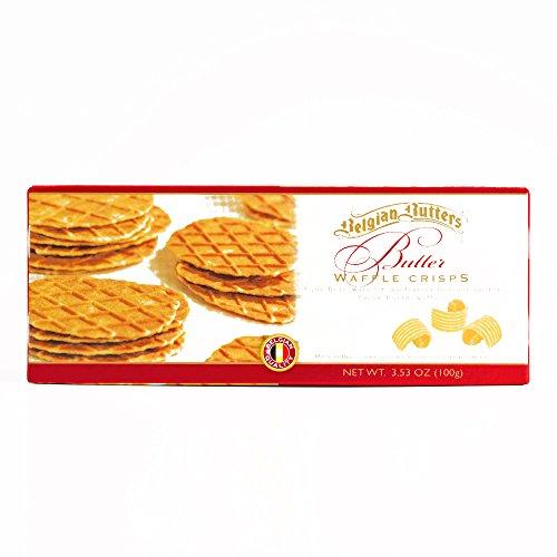 Belgian Butters Wafer Crisps 3.53 oz each (1 Item Per Order, not per case)