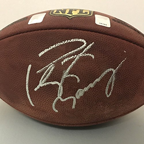 Peyton Manning Signed Authentic Football - 2