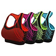 Women's Seamless Padded Sports Bra Workout Yoga Bras