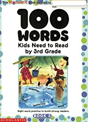 Image of the product 100 Words Kids Need to that is listed on the catalogue brand of Scholastic.