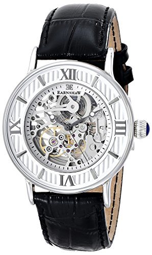 Thomas Earnshaw Men's ES-8038-02 Armagh Analog Display Automatic Self Wind Black Watch