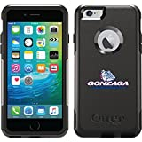 Coveroo Commuter Series Cell Phone Case for iPhone 6 Plus - Retail Packaging - Gonzaga University Mascot