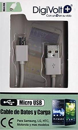 Digivolt - Cable usb a micro usb cb-8206: Amazon.es: Electrónica