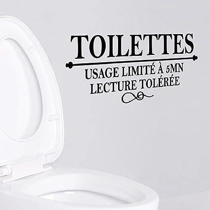 Amazon.com: Suyunyuan DIY 2 Pcs French Toilettes WC Door Decor Usage ...