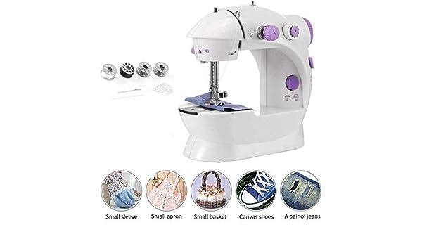 Máquina de coser portátil, máquina de coser eléctrica, hogar ...
