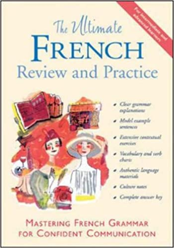 Amazon the ultimate french review and practice mastering the ultimate french review and practice mastering french grammar for confident communication uitimate review reference series english and french fandeluxe Image collections