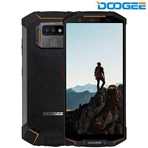 DOOGEE S70 Lite 4G Rugged Phone Android 8.1-5500mAh Battery 5.99'' IPS Screen IP68 Waterproof Dustproof Shockproof Octa-core 4GB RAM+64GB ROM 8MP+13MP Camera - Rugged Smartphone Unlocked Orange