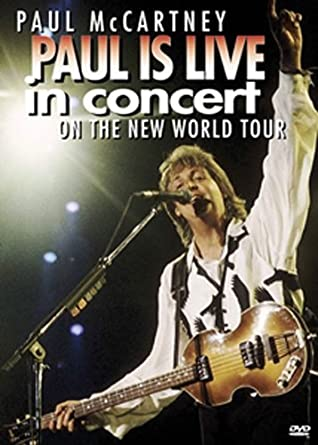 Amazon com: Paul McCartney - Paul Is Live in Concert: Paul