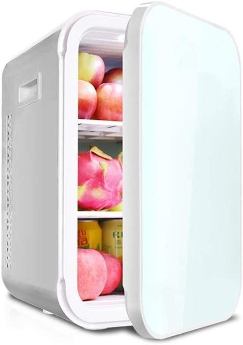 TYUIO 寝室、オフィスまたは寮のためのミニ冷蔵庫22 Lポータブル熱電クーラーと暖かいミニ冷蔵庫(ホワイト) (Color : Single core)