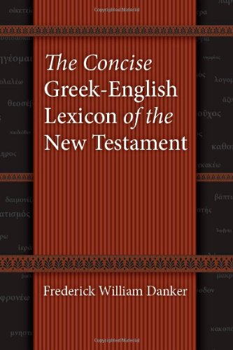 Concise Greek English Lexicon Of New...