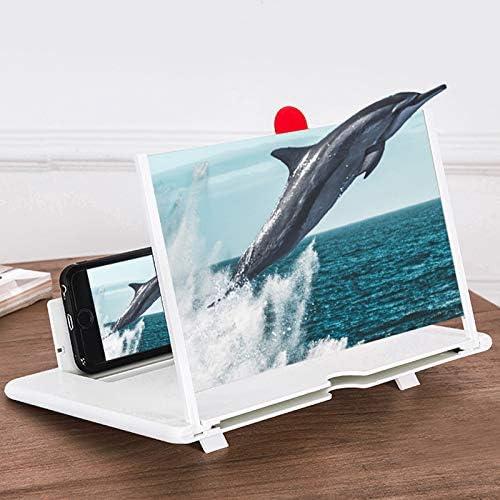 GT-FKM 12 Pulgadas HD Smartphone Lupa, Amplificador de Pantalla 3D ...