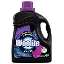 Woolite Darks, Laundry Detergent, With Colour Renew - Clothes Look New Longer, Mega Value Pack, 2.96 L