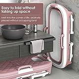 VOGOUS Portable Foldable Bathtub for Adults, Large